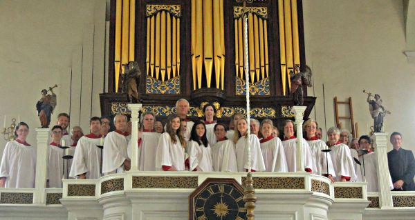Saint Paul's Choir in Boston