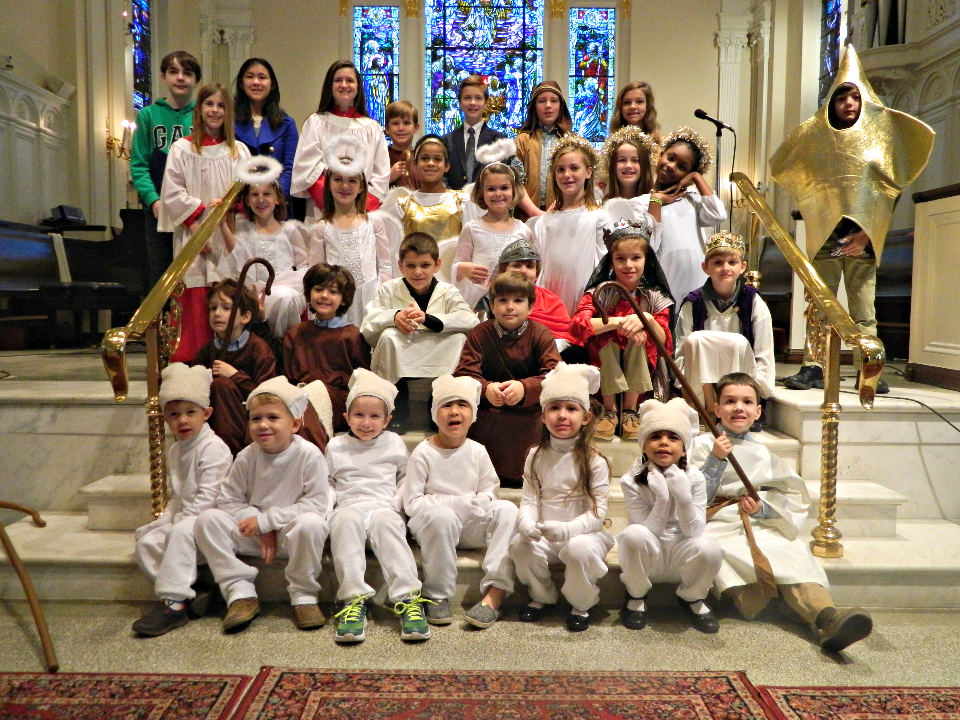 Christmas Pageant Group